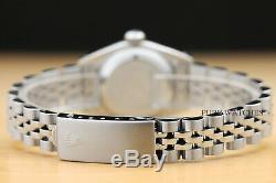 Rolex Ladies Diamond Datejust Quickset 18k White Gold & Stainless Steel Watch