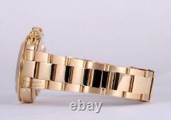 Rolex Men Daytona 116528 18k Yellow Gold 40mm-Custom Green Dial-18k Gold Bezel