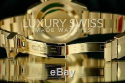 Rolex Men's Watch Yacht Master II 116688 18K Yellow Gold White Dial 44mm New