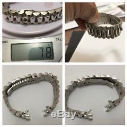 Rolex President Day Date 18029 18239 White Gold Bracelet Band 8385 100% Genuine
