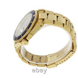Rolex Submariner Date 16618 18KYellow Gold Watch Serti Dial Diamond and Sapphire
