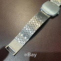 Stunning Mint Condition Gents Automatic Piaget 18ct White Gold Bracelet Watch