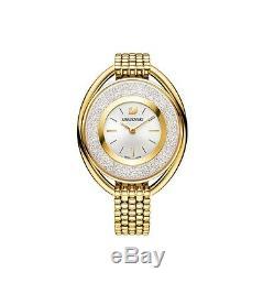 Swarovski Watch 5200339 Crystalline Oval Gold Bracelet, Swiss Made RRP $649