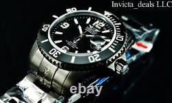 Tresod Men's Ocean Master AUTOMATIC Triple Black Sapphire Crystal 300M SS Watch