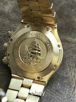 Vacheron Constantin Overseas Chronograph 49140/423J White Dial Automatic Men's W