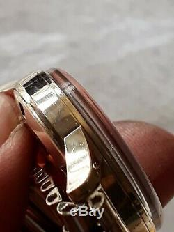 Vintage 9ct Gold Garrard Mens Automatic with solid 9ct Gold bracelet strap VGWO