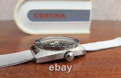 Vintage Certina DS-2 PH 200 M Steel Diver Automatic Watch 1968 Cal 25-651 Swiss