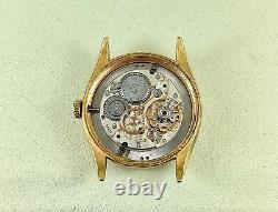 Vintage Rolex 34mm Watch Oyster Date Precision Ref 6294 Gold-Plated Steel Case
